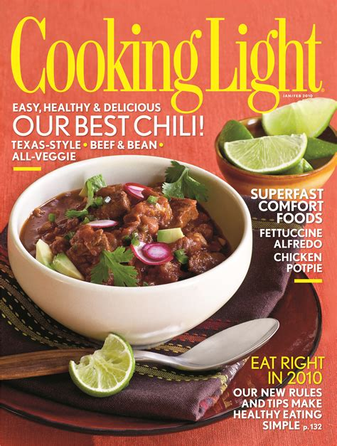 cuisine light cooking light magazine review the eat food not