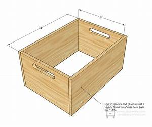 DIY How To Make A Wooden Toy Box Plans Free