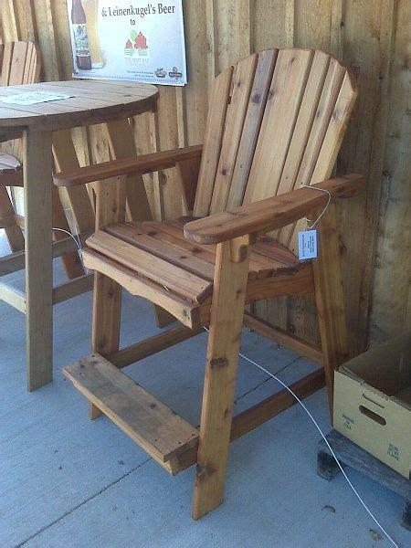 tall adirondack chair pinmybackyard  dream backyard
