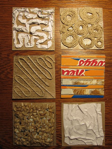 Collagraph Printing And How To Use It In The Classroom  Education Fun  Art, Art Projects, Prints