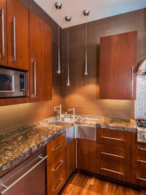 corner kitchen sink ideas pictures remodel  decor