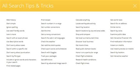 tips and tricks using find 50 search tips tricks boolean black belt