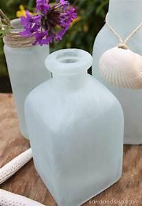 Diy, Sea, Glass, Vases