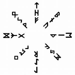 Symbole Mythologie Nordique : aettir cercle viking runas ~ Melissatoandfro.com Idées de Décoration