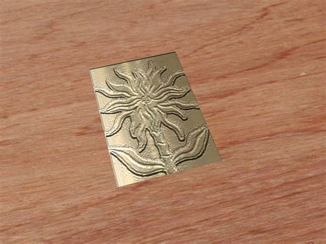 emboss metal  steps  pictures wikihow