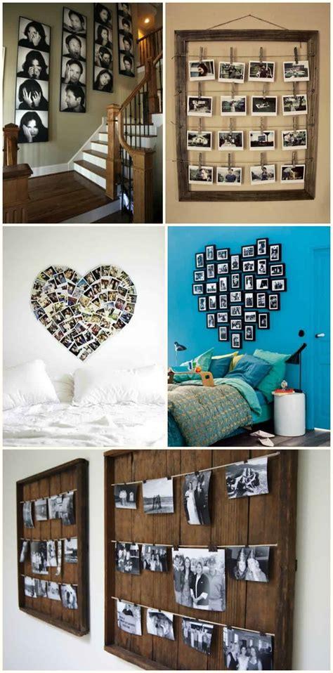 diy  idee su  decorare una parete  casa