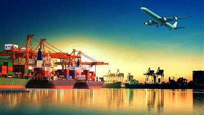 Airplane Ship Container Ships Desktop Take Wallpapers