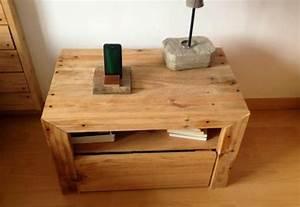 Holz Selber Bauen : diy bett und eigener designer nachttisch aus paletten ~ Articles-book.com Haus und Dekorationen