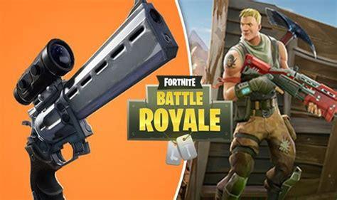 fortnite update  patch notes scoped revolver