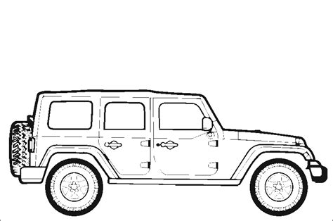 4 door jeep drawing improving your wrangler s handling suspension components