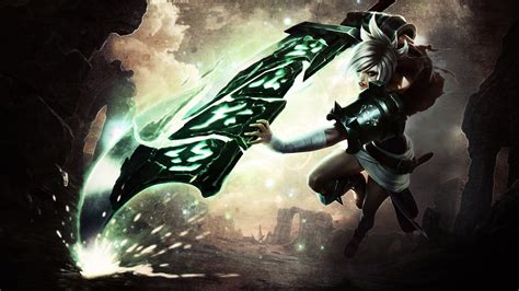 Nightblue3 Animated Wallpaper - league of legends riven wallpaper by slayorfx on deviantart