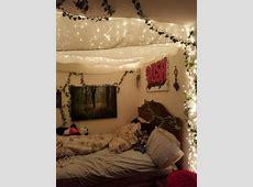 fairy lights room Tumblr