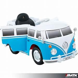 Combi Volkswagen Electrique Prix : voiture lectrique pour enfant vw combi bleu 12volts ~ Medecine-chirurgie-esthetiques.com Avis de Voitures