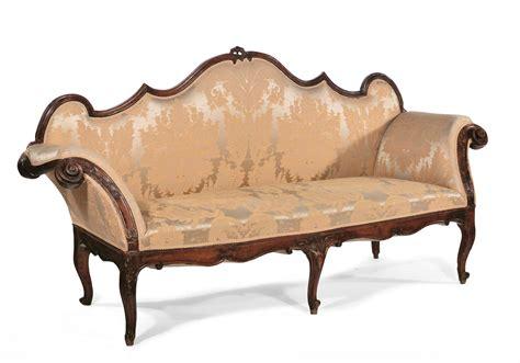Divano Luigi Xv - divano luigi xv in noce xviii secolo antiquariato e