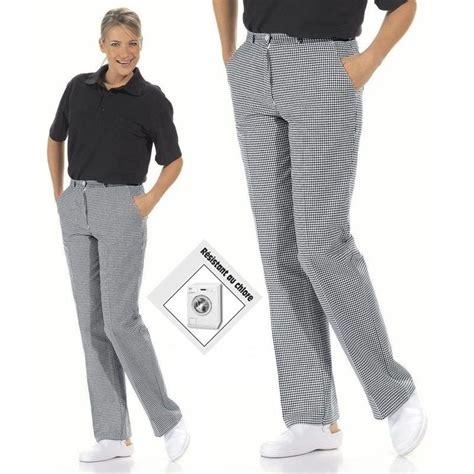 pantalon cuisine pantalon cuisine ou boulanger femme lavable à 95 c