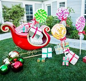 How To Make Outdoor Christmas Candy Decorations