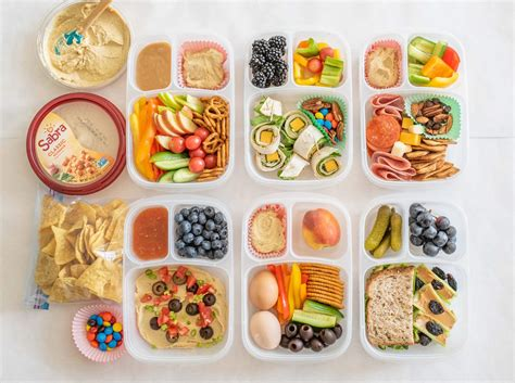 How Much Do School Lunch Make by Six Easy Hummus Lunch Boxes Healthy Back To