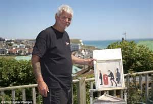 style ls ebay uk artist david henty admits he creates lowry paintings