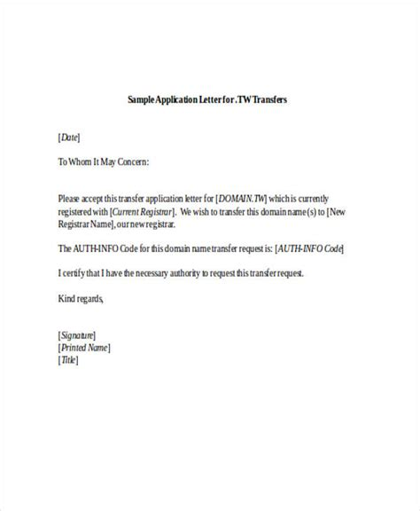What Is The Format Of An Application Letter by 52 Application Letter Exles Sles Pdf Doc