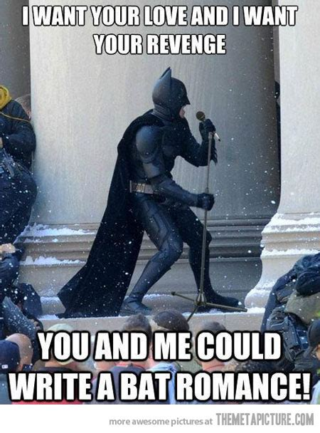 Batman Funny Meme - superman tas ladders into the grave