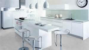 meubles de cuisine meuble de cuisine laque blanc