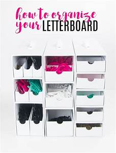 21 best stash and store collection by totally tiffany With heidi swapp letter board