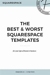 the best worst squarespace templates the paige studio With best squarespace template for blog