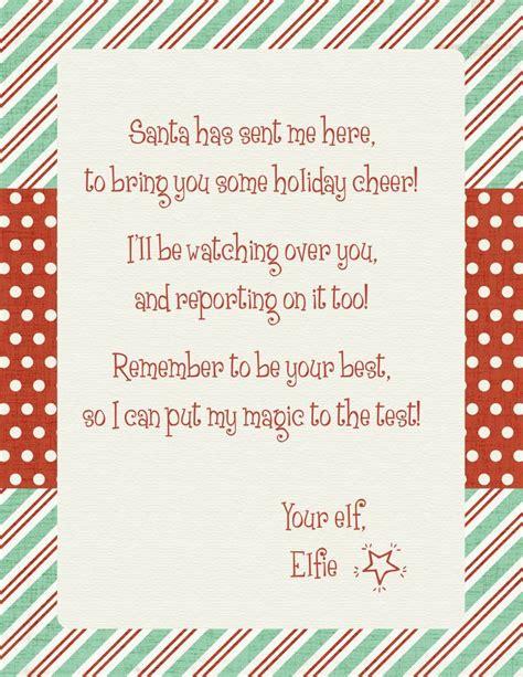 elf  shelf letter template elf   shelf arrival