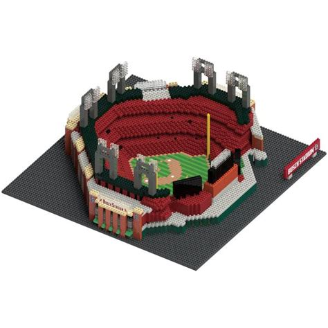 st louis cardinals busch stadium mlb brxlz stadium blocks set