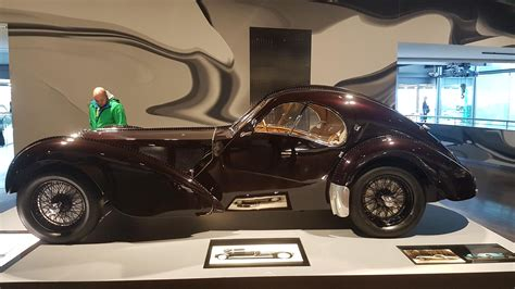 Bugatti struck gold with the introduction of the type 57 early in 1934. 1936 Bugatti Type 57SC Atlantic Coupe - Autostadt ...