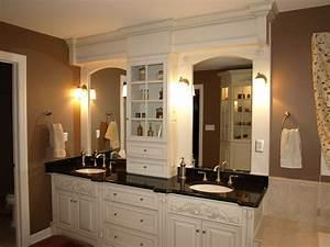 Gorgeous 40+ Bathroom Double Vanity Tower Inspiration