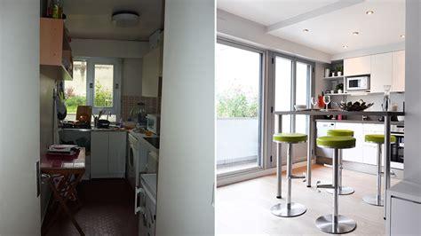 ouverture cuisine sur sejour ouverture mur cuisine salon avant apr s ouvrir une sur le