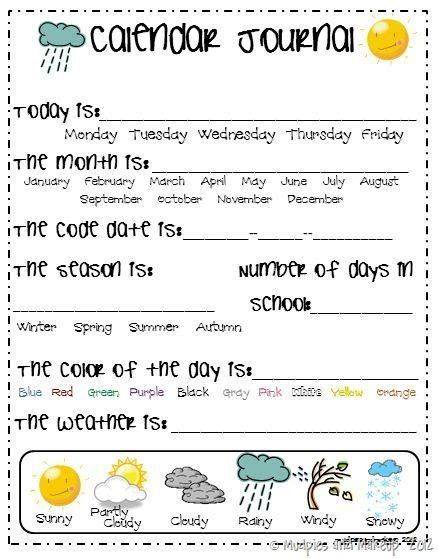 kindergarten calendar activities worksheets homeshealth info