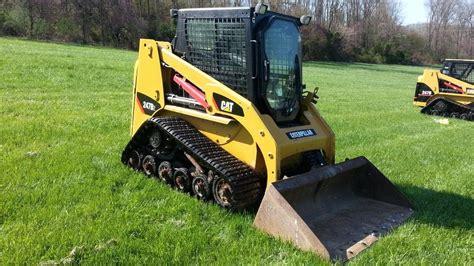 cat  track skid steer loader youtube