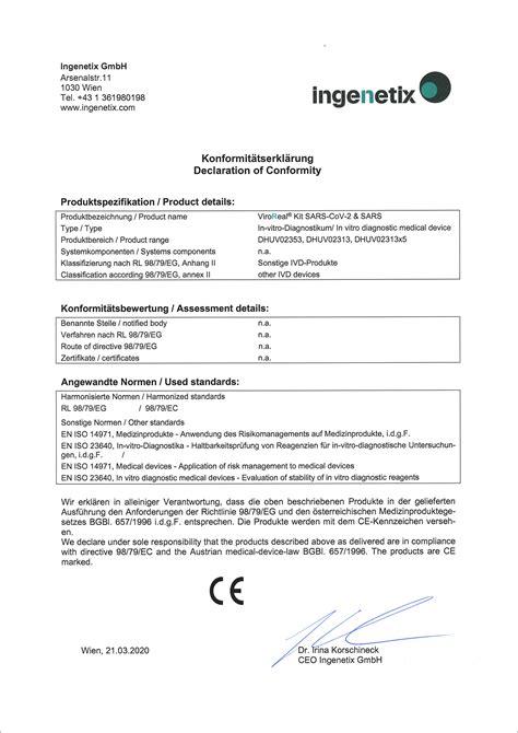 ViroReal® Kit SARS-CoV-2 & SARS CE-IVD | BIOZOL