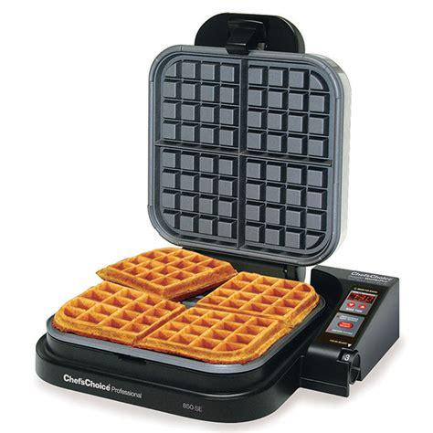 chefs choice model  se wafflepro taste texture belgian