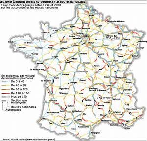 Carte De France Autoroute : s curit routi re les zones risque sur les autoroutes et routes nationales ~ Medecine-chirurgie-esthetiques.com Avis de Voitures