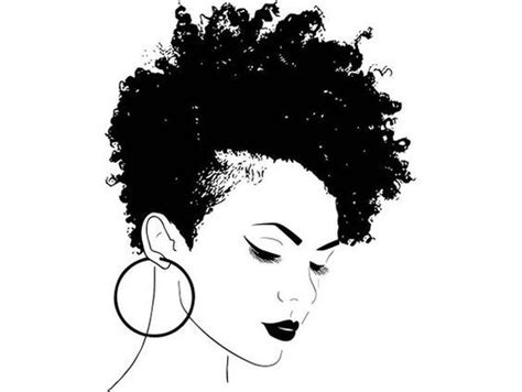 pin  natural girls united  coloring pages natural hair styles afro hairstyles hair art
