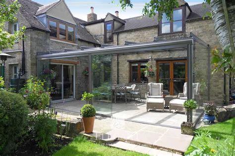 glass garden room  rural oxfordshire elegant