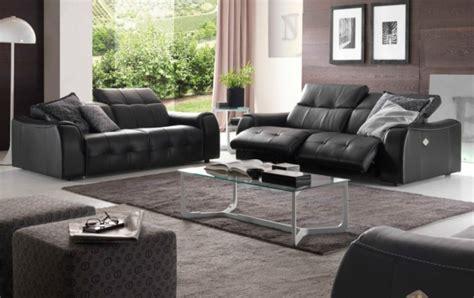 Schwarzes Sofa Welche Wandfarbe by Sofa Mit Relaxfunktion Schenken Sie Sich Komfort Und
