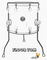 Drums Drum Tom Floor Yescoloring Coloring Printable Printables Pages Print Pounding Instruments Musical Percussion Bongo Toms Djembe Instrument Conga Cool sketch template