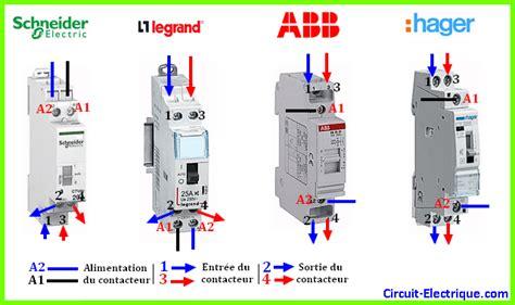 branchement contacteur jour nuit a chauffe eau circuit electrique schema branchement cablage