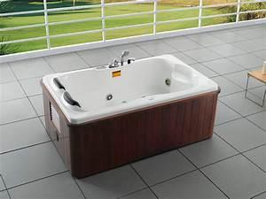 Baignoire 2 Places Balneo : baignoire baln o spa alberta 2 places 180 x 115 x 75 cm ~ Edinachiropracticcenter.com Idées de Décoration