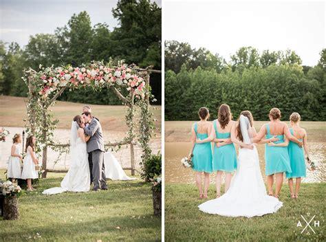 A Mississippi Summer Backyard Wedding