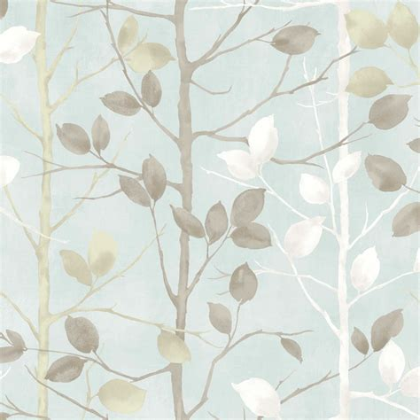 Blue And Brown Bathroom Decorating Ideas by Arthouse Wallpaper Woodland Duck Egg 630700 At Wilko Com