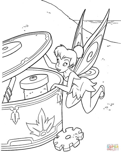 Disney Fairies Coloring Pages Free