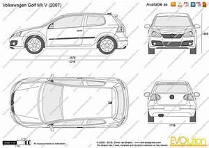 Dimensions Golf 5 : the vector drawing volkswagen golf v 3 door ~ Medecine-chirurgie-esthetiques.com Avis de Voitures