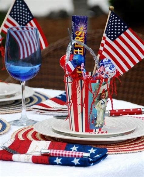easy fourth of july decorations easy table decorations for 4th of july independence day family holiday net guide to family