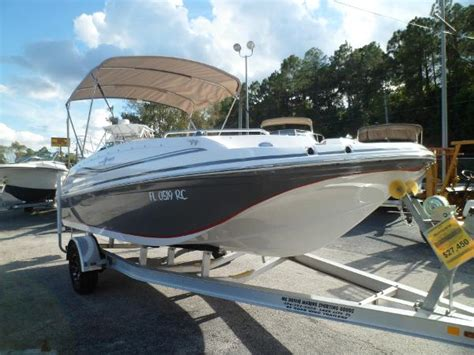 Hurricane Sundeck Used Boats by Used Hurricane Sundeck Sport 188 Ob Boats For Sale Boats