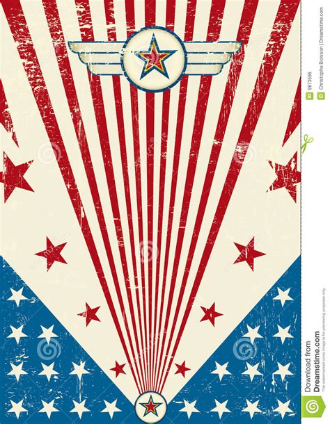 patriotic scratch poster royalty  stock image image